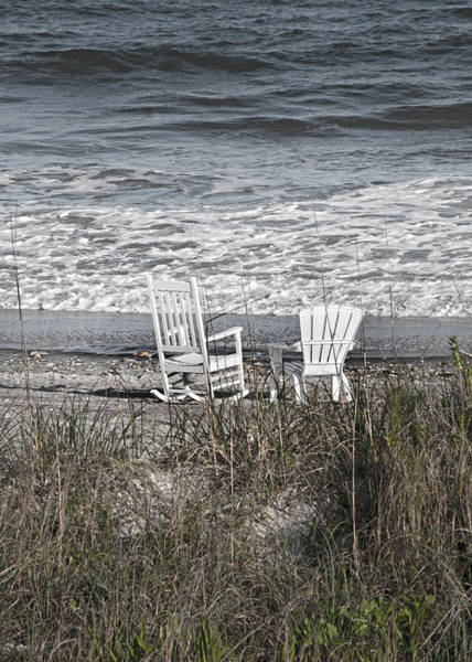 Oceanfront Photograph - Daydreaming By The Sea  by Betsy Knapp