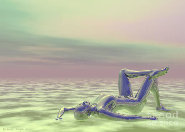 Digital Art - Daydreaming by Sandra Bauser Digital Art