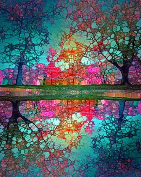 Wall Art - Digital Art - Daydreams In The Garden by Tara Turner