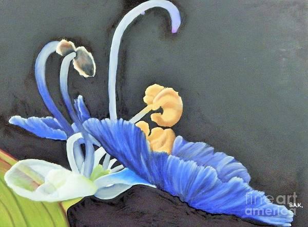 Dayflower Painting - Dayflower by Barbara King