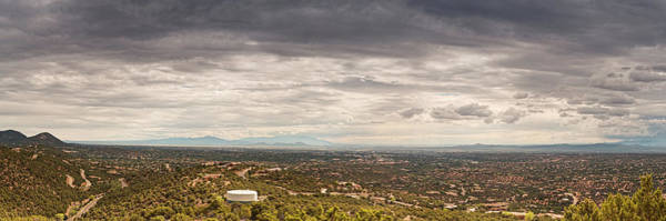 Photograph - Daylight Panorama Of Santa Fe And Surrounding Mountains From Dale Ball Trails - New Mexico by Silvio Ligutti
