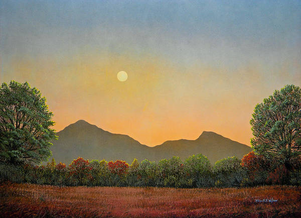 Painting - Days Beginning by Frank Wilson