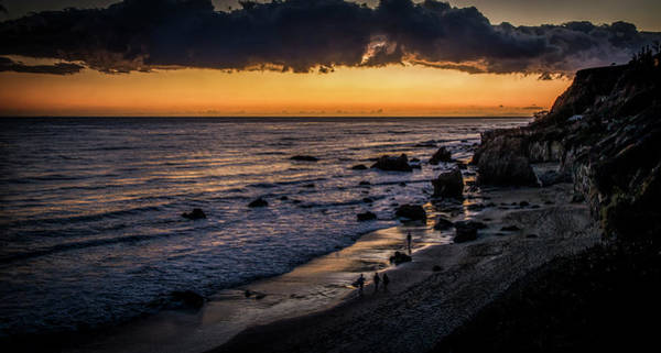 Photograph - Days End At El Matador by Gene Parks