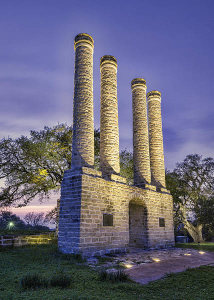 Wall Art - Photograph - Days End At Old Baylor by Stephen Stookey