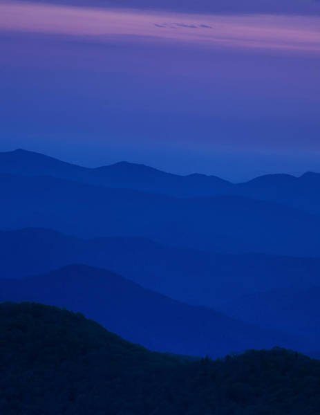 Wall Art - Photograph - Day's End At The Blue Ridge by Andrew Soundarajan