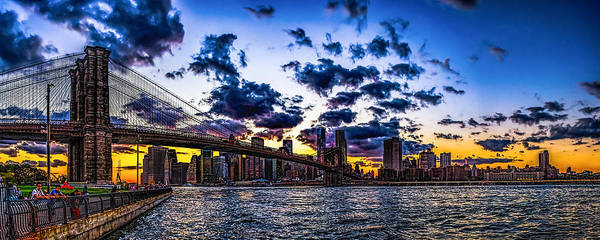 Photograph - Days End In Brooklyn by Nick Zelinsky