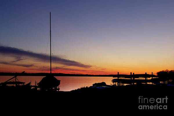 Photograph - Days End by Rod Best