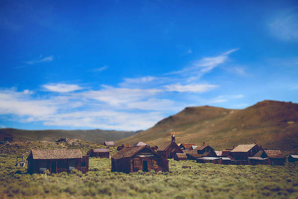 Bodie Ghost Town Wall Art - Photograph - Days Of Old by Laurie Search
