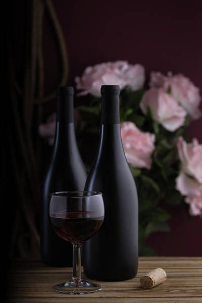 Wineglass Wall Art - Photograph - Days Of Wine And Roses by Tom Mc Nemar