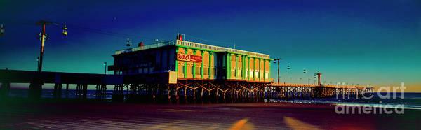 Photograph - Daytona, Beach, Famous,ocean Pier, Dancing, Fishing, Atlantic by Tom Jelen