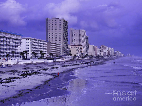 Photograph - Daytona Beach November Morning by Deborah Benoit