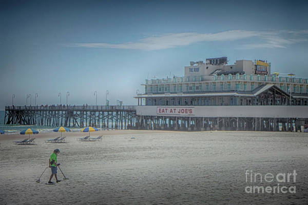 Photograph - Daytona Beach Pier by Judy Hall-Folde
