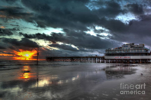 Wall Art - Photograph - Daytona Beach Pier  by Rick Mann