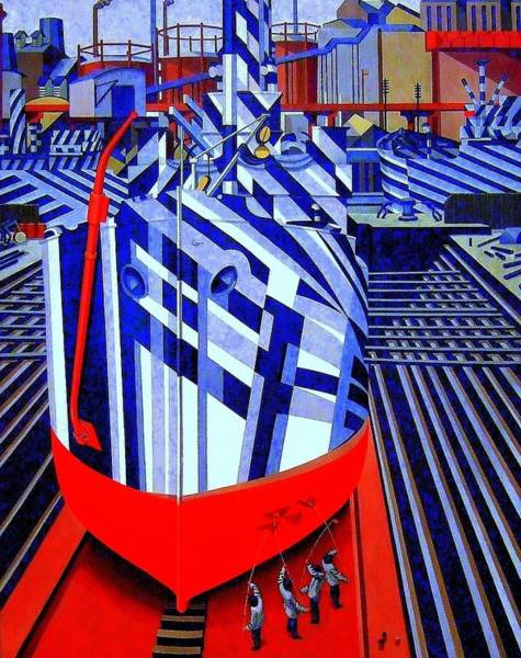 Dazzle Wall Art - Photograph - Dazzle Ships  by Don Kemper