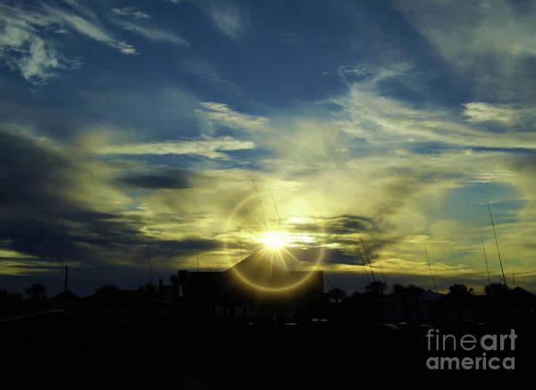 Photograph - Dazzling Sunset by D Hackett
