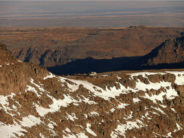 Photograph - Db5932 Our Sportsmobile At Steens Mountain by Ed Cooper Photography