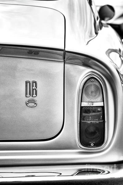 Photograph - DB6 by Tim Gainey