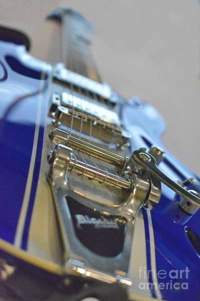 Photograph - Dbz Diamond Guitar by Vivian Martin