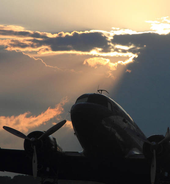Wall Art - Photograph - Dc-3 On Sunrise 1 by Maxwell Amaro
