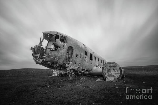 Photograph - Dc 3 Passing Time Bw by Michael Ver Sprill