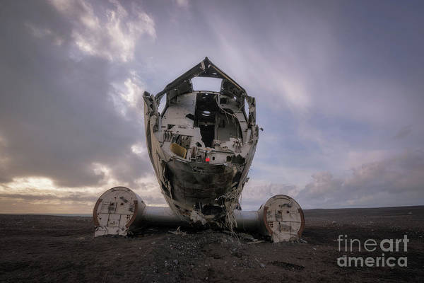 Photograph - Dc-3 Wreck by Michael Ver Sprill