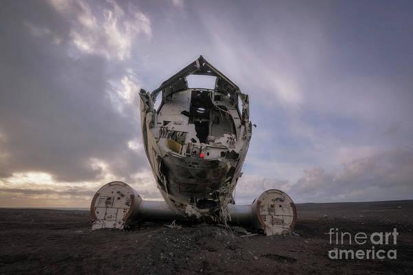 Wall Art - Photograph - Dc-3 Wreck by Michael Ver Sprill