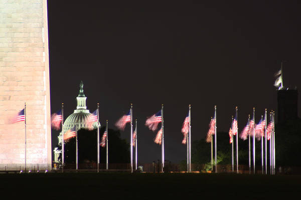 Photograph - Dc At Night by Nancy Ingersoll