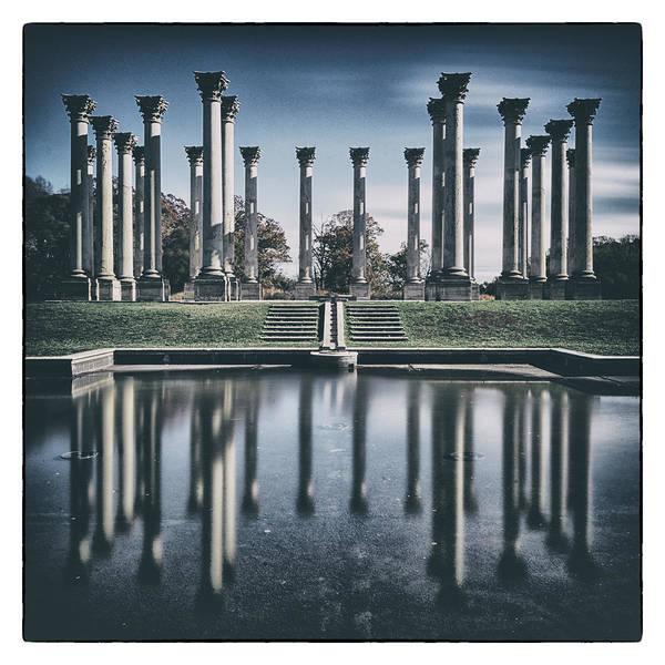 Arboretums Photograph - Dc Columns by Robert Fawcett