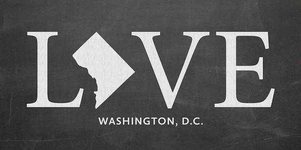 Maryland Mixed Media - Dc Love by Nancy Ingersoll