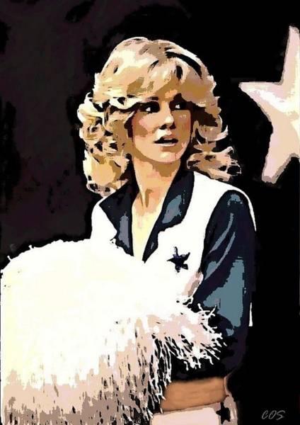 Cheerleaders Digital Art - Dcc Legend Dk by Carrie OBrien Sibley