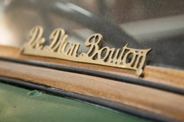 Photograph - De Dion Bouton by Helen Northcott