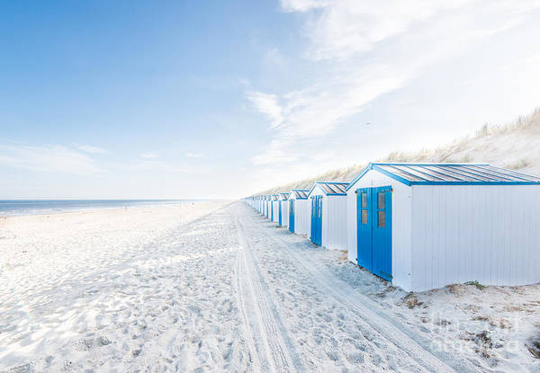 Photograph - De Koog - Beach Cabins by Hannes Cmarits