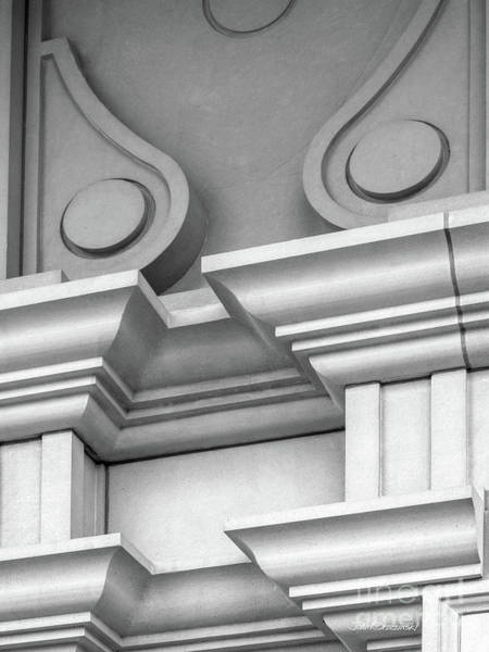 Photograph - De Pauw University Detail by University Icons
