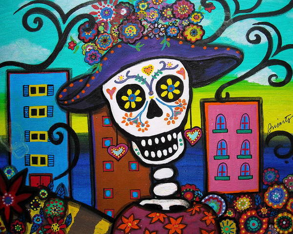 Painting - Dead And The City by Pristine Cartera Turkus