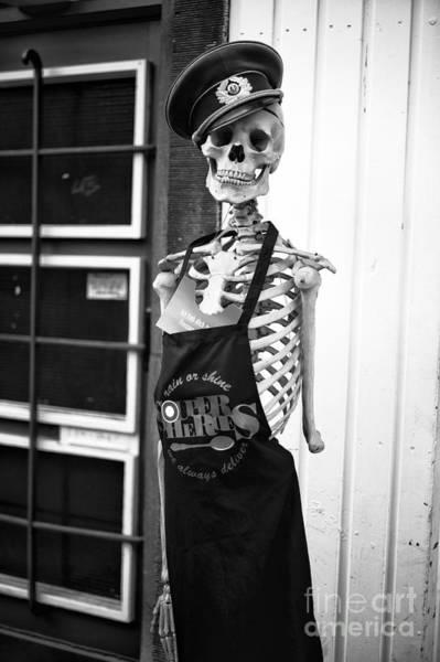 Hats For Sale Photograph - Dead Chef Mono by John Rizzuto
