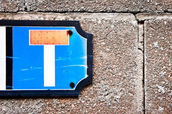 Restriction Photograph - Dead End  by Tom Gowanlock