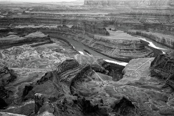 Photograph - Dead Horse Point Park Monochrome - Utah by Gregory Ballos