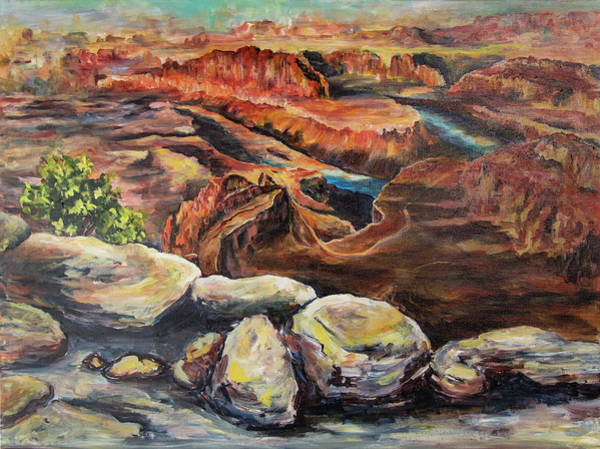 Painting - Dead Horse Point by Sally Quillin