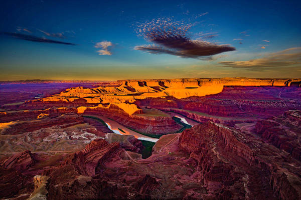 Photograph - Dead Horse Point Sunrise by Norman Hall
