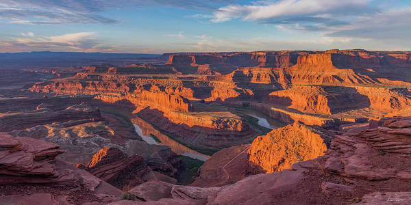Photograph - Dead Horse Point Sunrise Panorama by Dan Norris