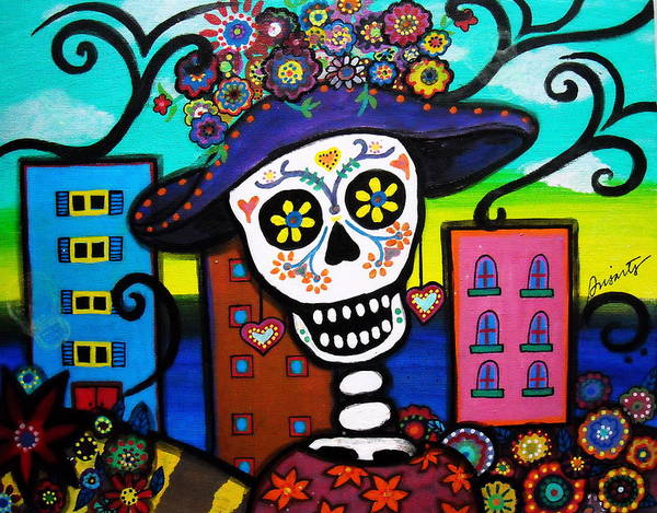 Harana Wall Art - Painting - Dead In The City by Pristine Cartera Turkus