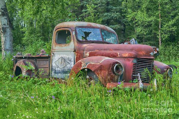 Deterioration Photograph - Dead International Harvester by Paul Quinn