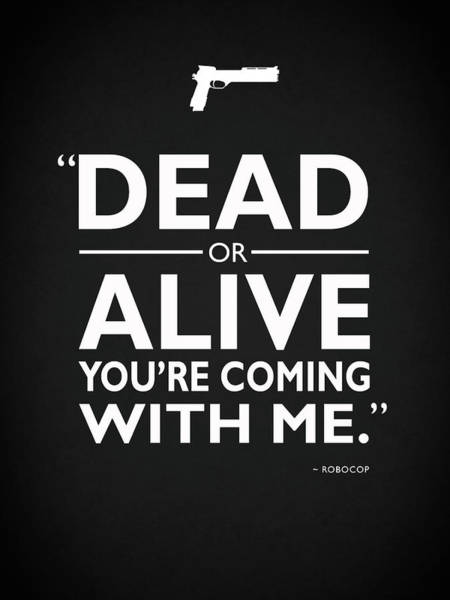 Alive Photograph - Dead Or Alive by Mark Rogan