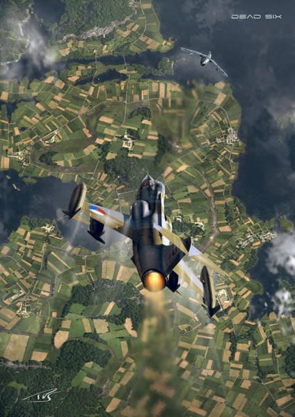 Cockpit Digital Art - Dead Six Two by Peter Van Stigt