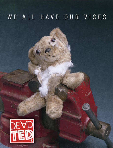 Mixed Media - Dead Ted Vises by Tim Nyberg