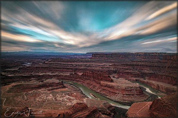 Deadhorse Point Sunrise Art Print