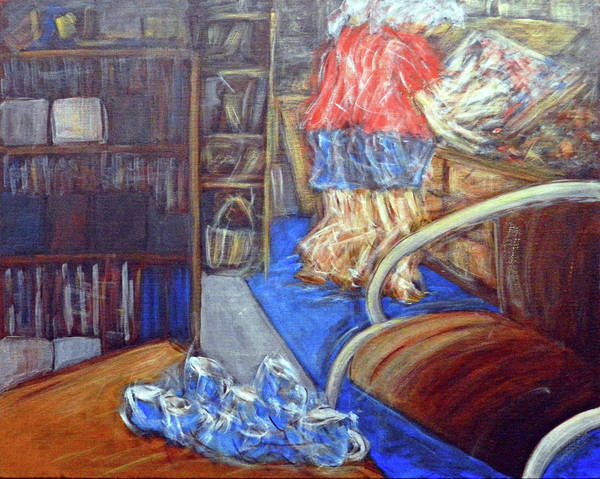 Deadline Painting - Deadline by Anne Huth