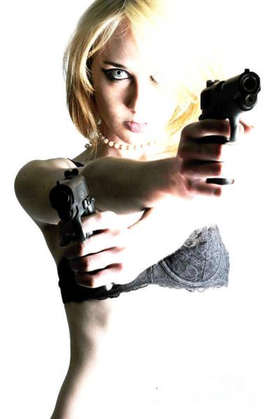 Photograph - Deadly Blonde by Robert WK Clark