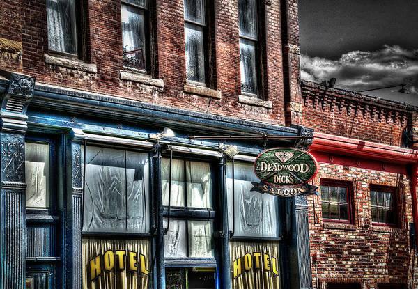 Wild Bill Hickock Photograph - Deadwood Dicks Saloon by Deborah Klubertanz