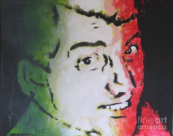 Painting - Dean Martin - Italian American by Eric Dee